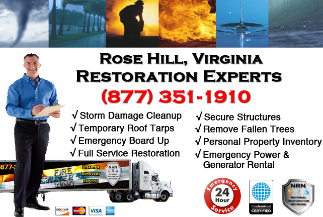 Rose Hill Storm Damage Repairs