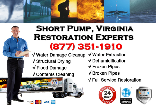 Short Pump Water Damage Restoration