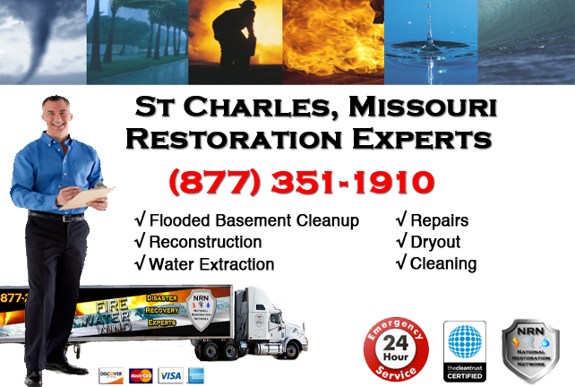 St Charles Flooded Basement Cleanup Company