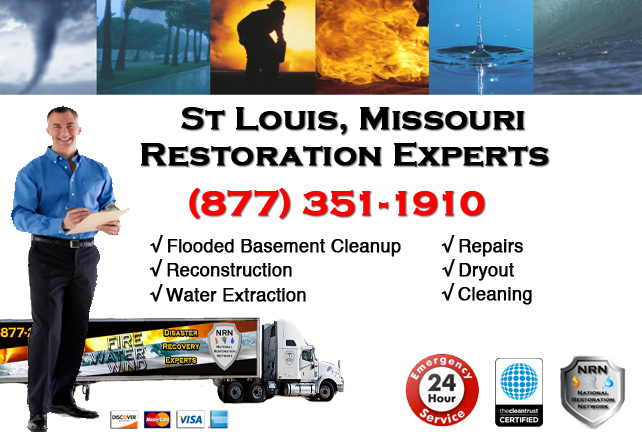 St Louis Flooded Basement Cleanup Company