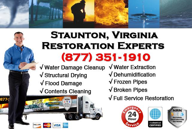 Staunton Water Damage Restoration