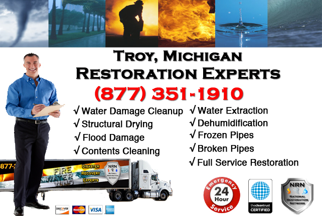 Troy Water Damage Repairs
