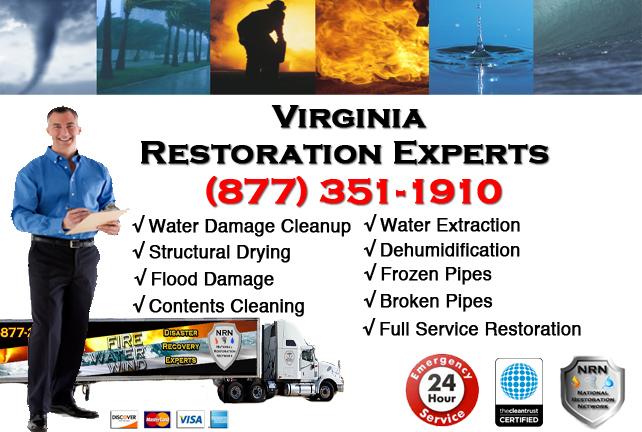 Virginia Water Damage Restoration