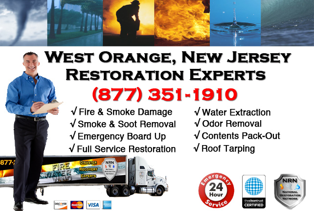 West Orange Fire Damage Restoration Contractor