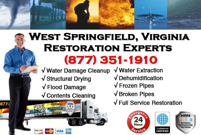 West Springfield Water Damage Restoration