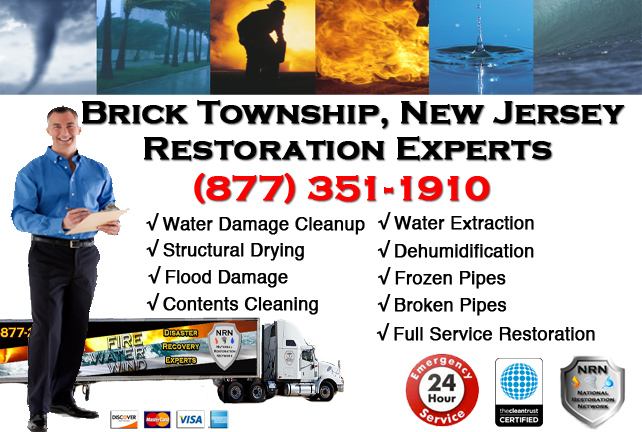 Brick Township Water Damage Restoration