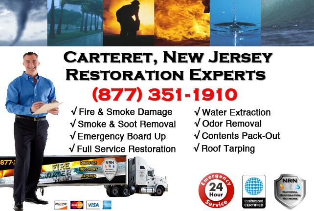 Carteret Fire Damage Restoration Contractor