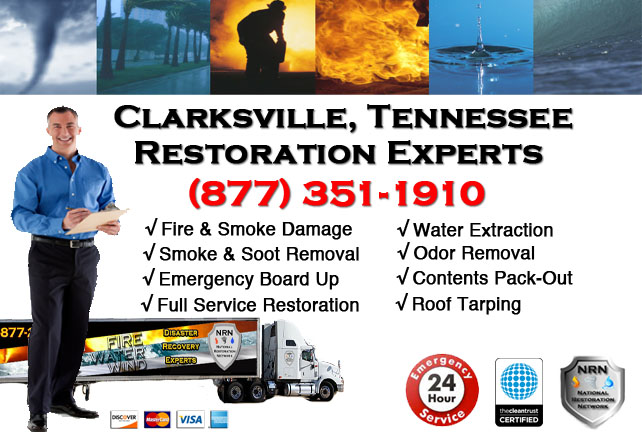 Clarksville Fire Damage Cleanup Contractor