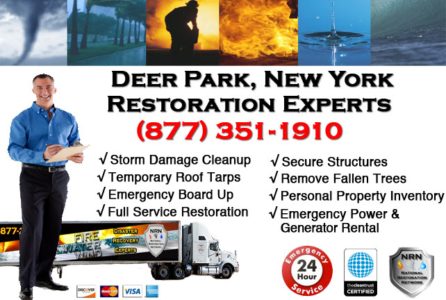 Storm Damage Repairs and Cleanup Deer Park NY