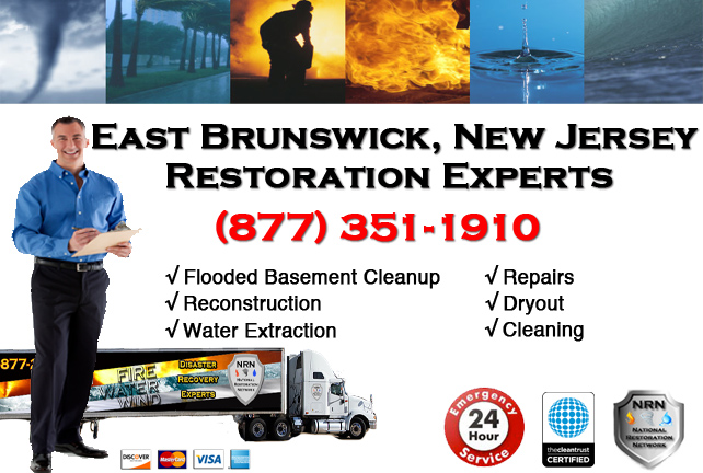 East Brunswick Flooded Basement Cleanup