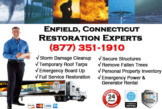 Enfield Storm Damage Cleanup
