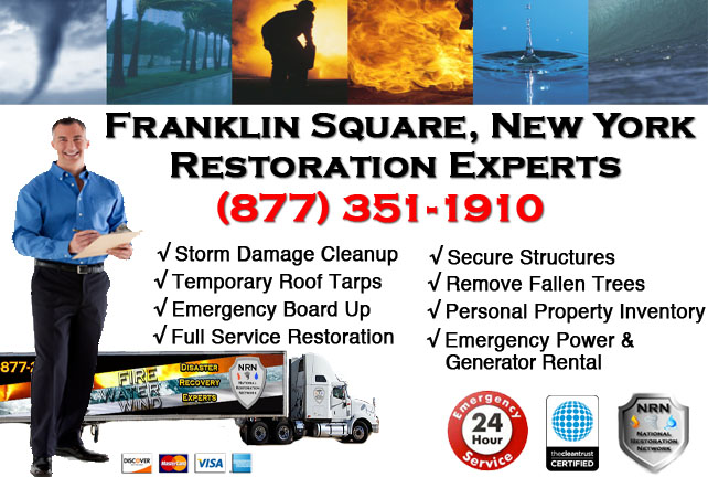 Storm Damage Repairs and Cleanup Franklin Square NY
