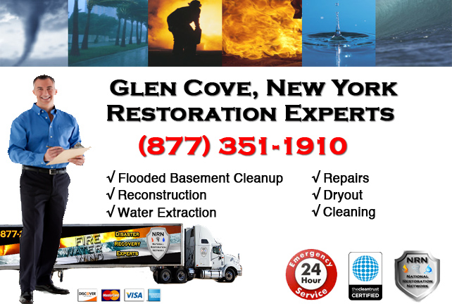 Glen Cove Flooded Basement Cleanup
