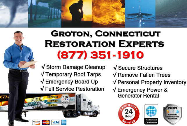 Groton Storm Damage Cleanup