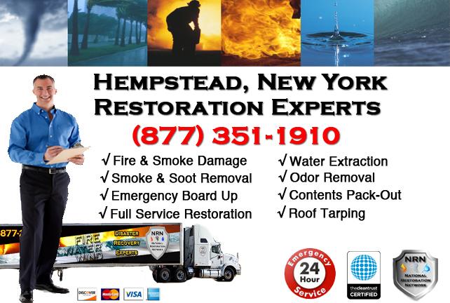 Hempstead Fire Damage Restoration Contractor