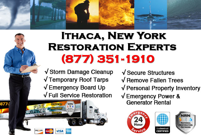 Storm Damage Repairs and Cleanup Ithaca NY
