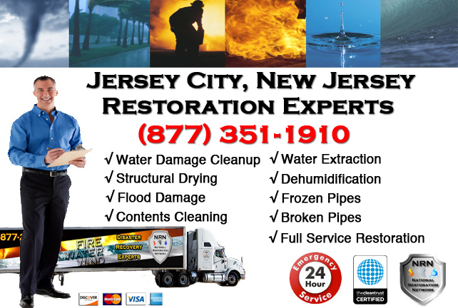 Jersey City Water Damage Restoration