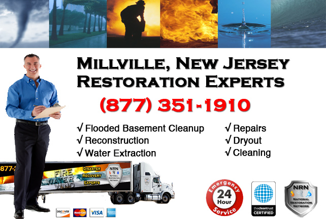 Millville Flooded Basement Cleanup