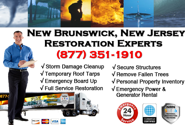 New Brunswick Storm Damage Cleanup