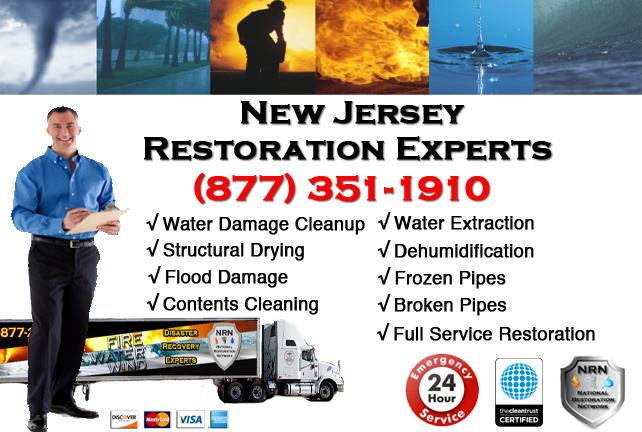 New Jersey Water Damage Restoration