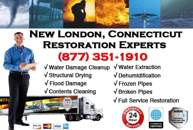 New London Water Damage Restoration