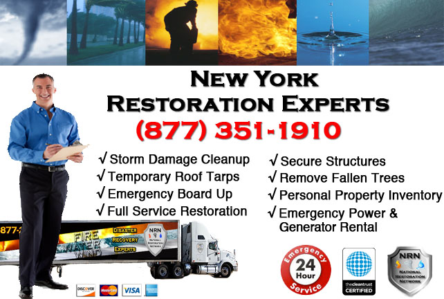 Storm Damage Repairs and Cleanup New York NY