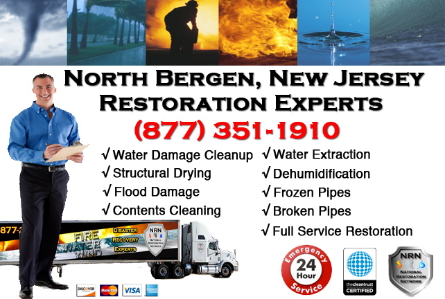 North Bergen Water Damage Restoration