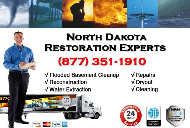 North Dakota Flooded Basement Cleanup