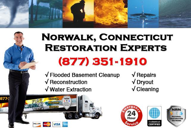 Norwalk Flooded Basement Cleanup