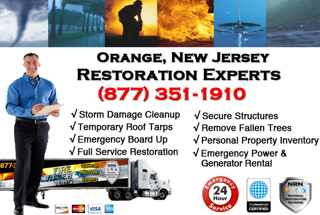 Orange Storm Damage Cleanup