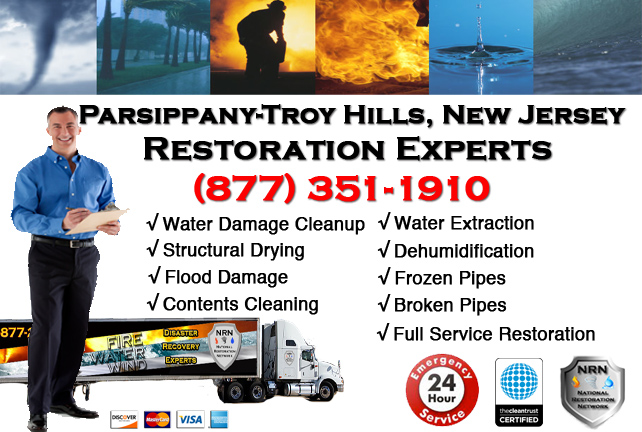 Parsippany-Troy Hills Water Damage Restoration