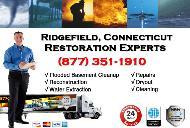 Ridgefield Flooded Basement Cleanup