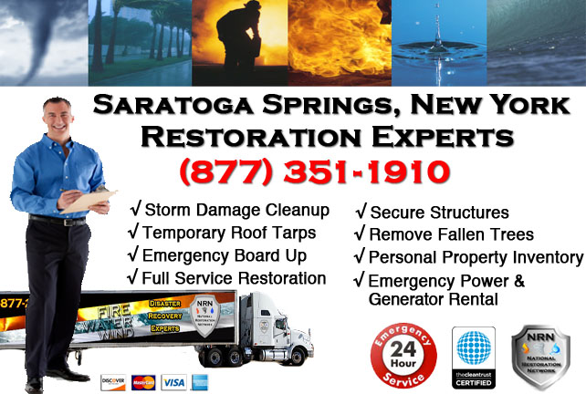 Storm Damage Repairs and Cleanup Saratoga Springs NY