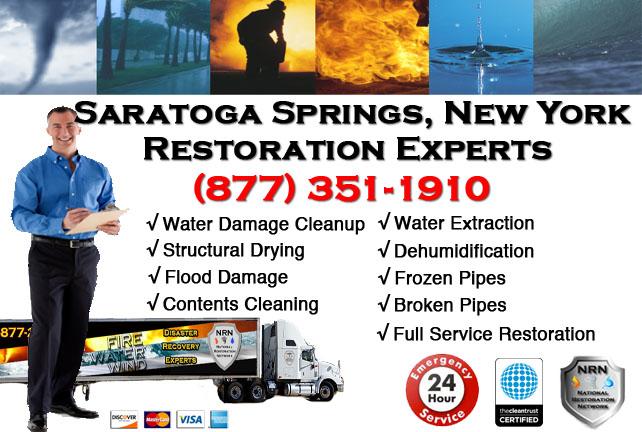 Saratoga Springs Water Damage Restoration