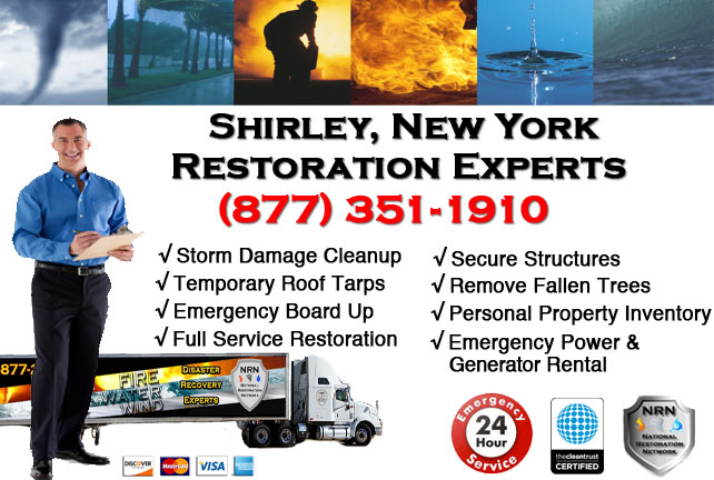Storm Damage Repairs and Cleanup Shirley NY
