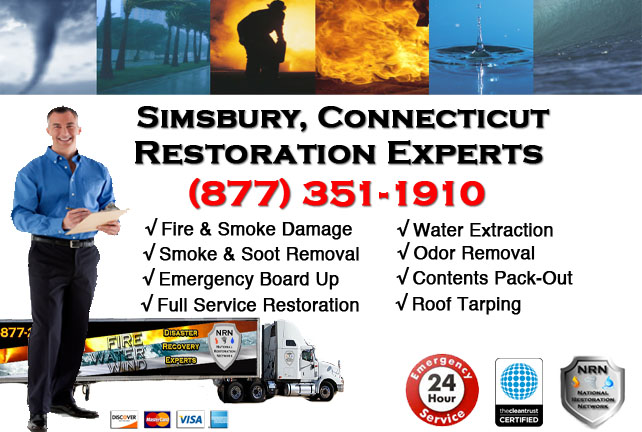 Simsbury Fire Damage Cleanup Contractor