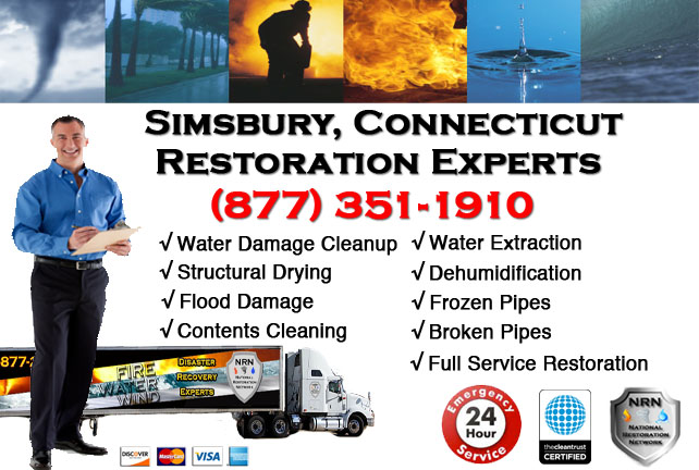 Simsbury Water Damage Restoration