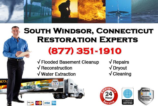 South Windsor Flooded Basement Cleanup