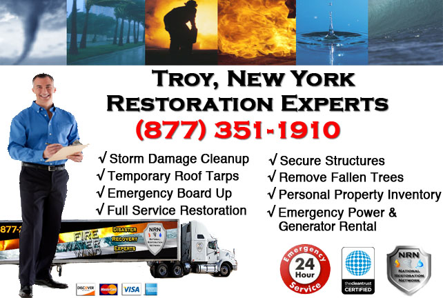 Storm Damage Repairs and Cleanup Troy NY