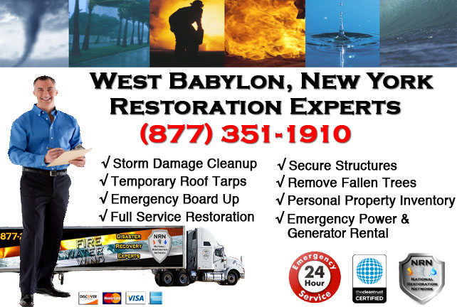 Storm Damage Repairs and Cleanup West Babylon NY