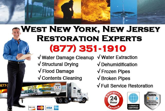 West New York Water Damage Restoration