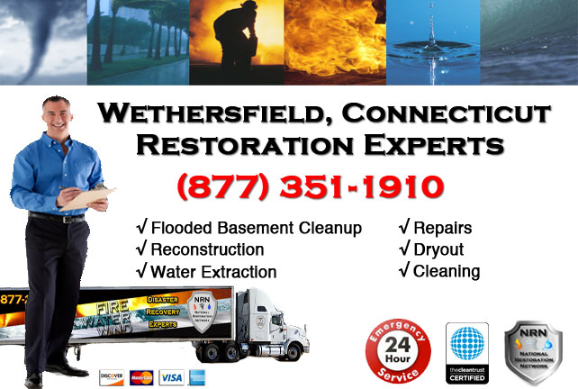 Wethersfield Flooded Basement Cleanup