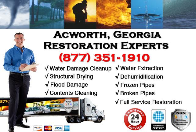Acworth Water Damage Restoration