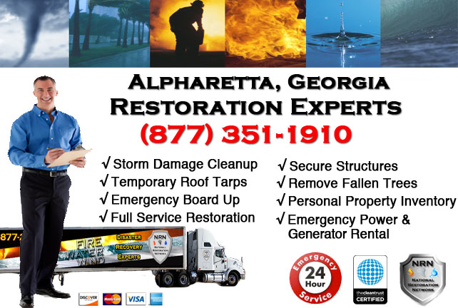 Alpharetta Storm Damage Cleanup