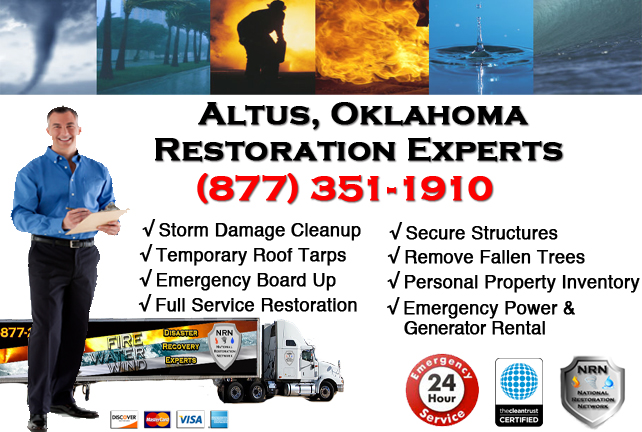 Altus Storm Damage Cleanup