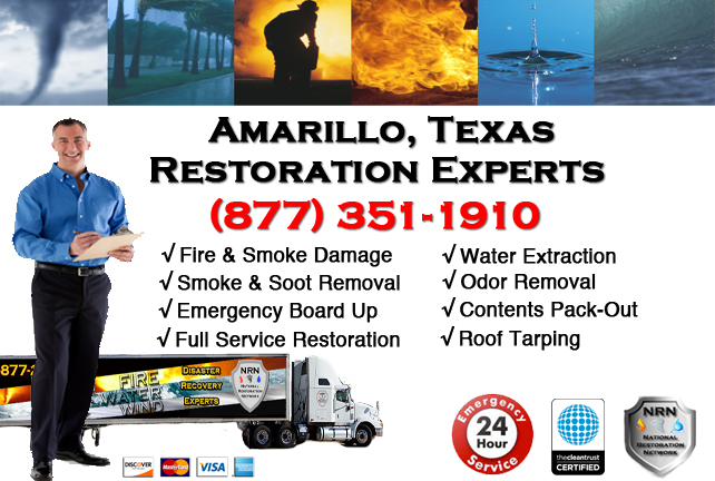Amarillo Fire Damage Restoration Contractor