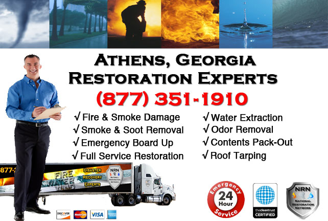 Athens Fire Damage Cleanup Contractor