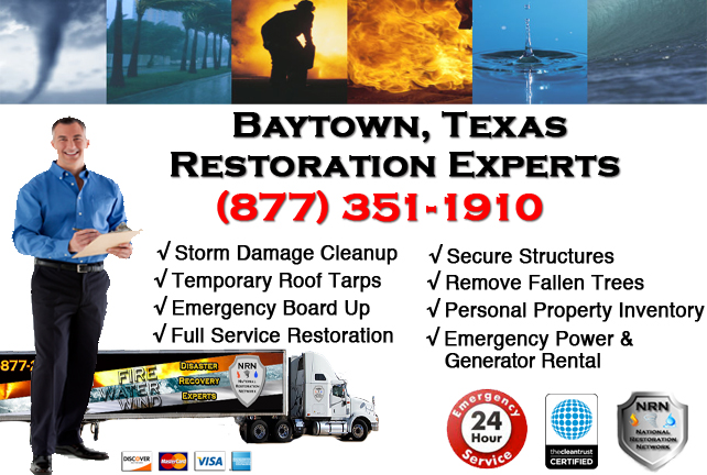 Baytown Storm Damage Cleanup