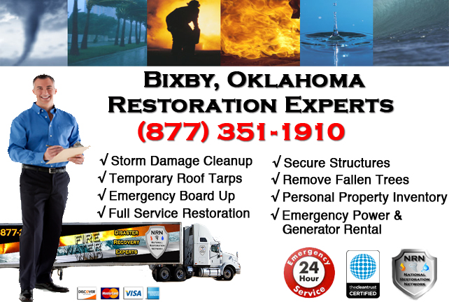 Bixby Storm Damage Cleanup