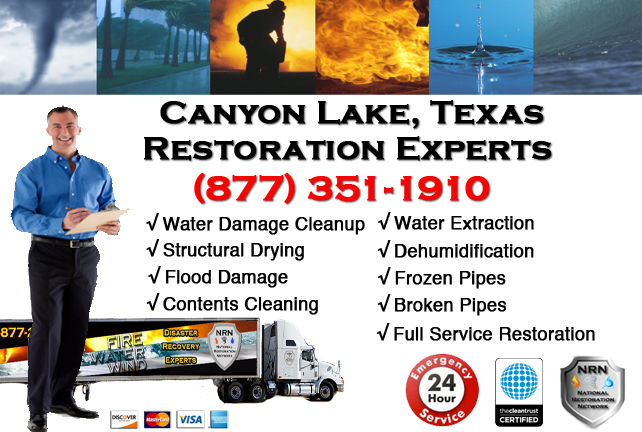 Canyon Lake Water Damage Restoration